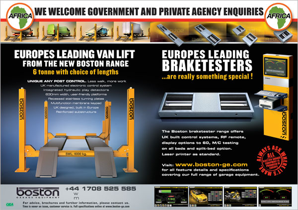 Boston Garage Equipment Ltd