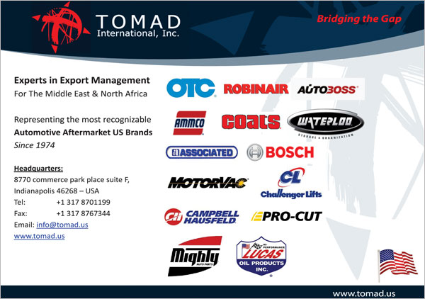 Tomad International, Inc.