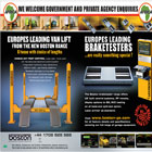 Boston Garage Equipment Ltd is a leading suppliers of a superb range of vehicle workshop equipment.