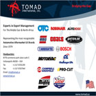 TOMAD International, Inc. is an export management company specializing in sales and marketing within the Middle East and Africa region.